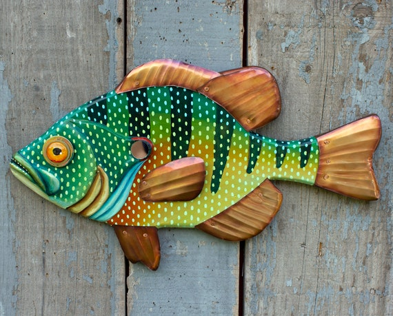 Bluegill Sunfish Wall Art, 20""