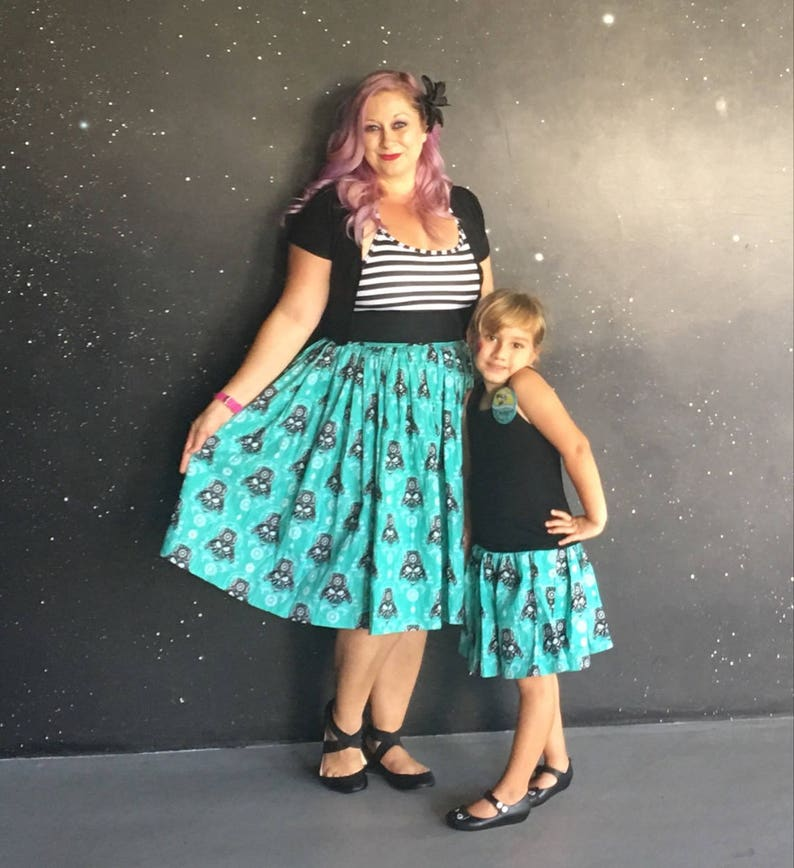 f86b4b535f3 Disneybound Skirt Disney and Star Wars Skirts for Girls to