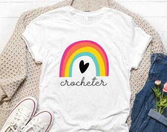 Crochet Lover T-shirt, Yarn Lover Tee Shirt, Crochet Shirt