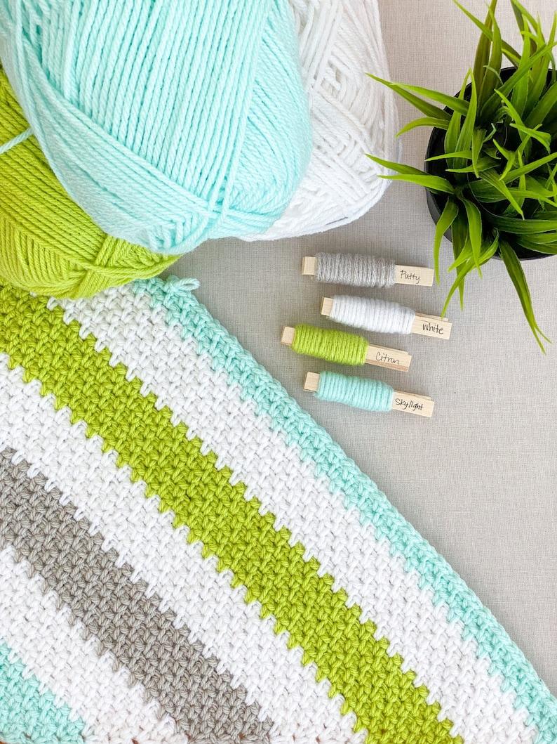 Corner to Corner Moss Stitch Crochet Pattern from Daisy image 0