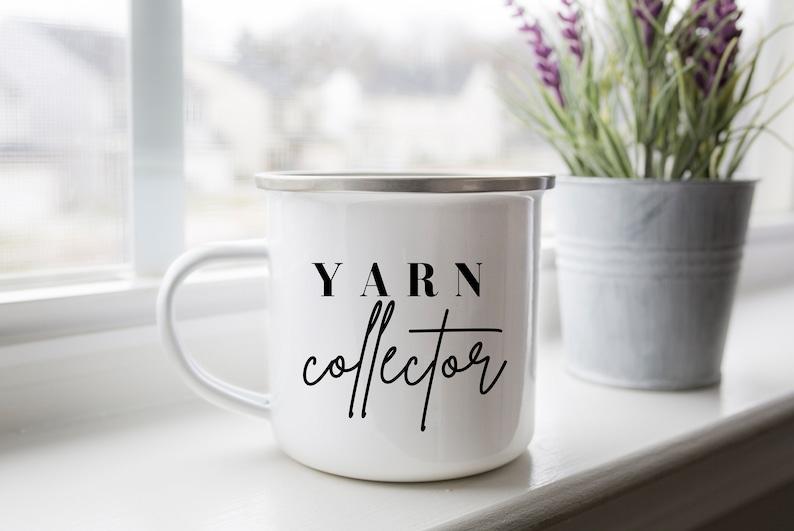 Crochet Mug Gifts for Crocheters Crochet Cup Crochet Coffee image 0