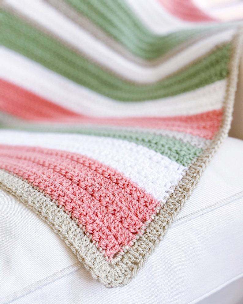 Quick and Easy Crochet Pattern Easy Crochet Blanket Pattern image 0