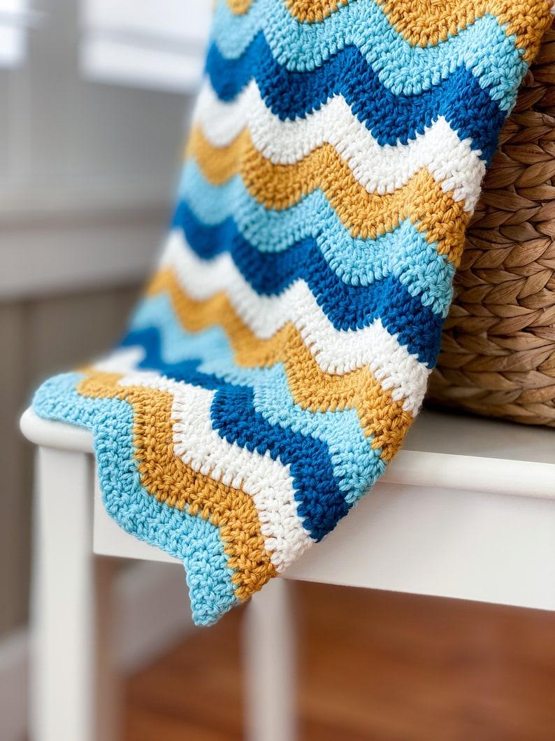 Quick and Easy Crochet Blanket Crochet Blanket Tutorial  image 0