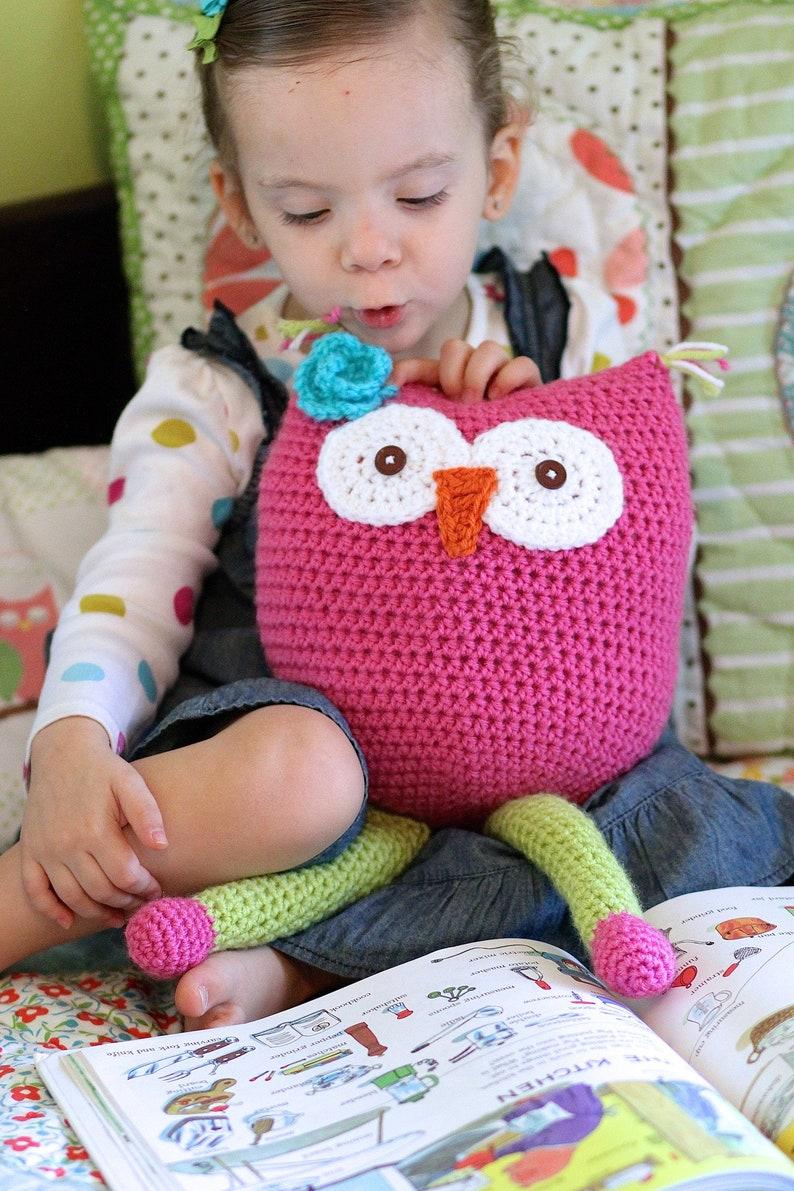 Easy Owl Amigurumi Pattern Crochet Owl Toy Pattern Crochet image 0