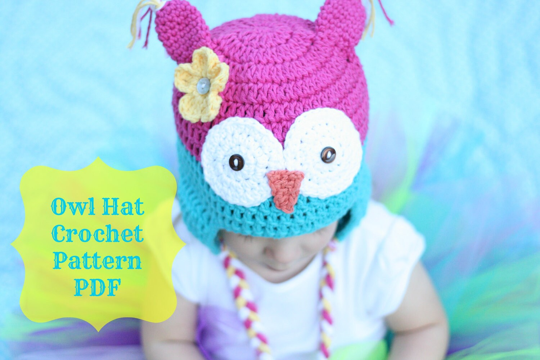 Owl Hat Pattern Crochet Owl Hat Pattern Crochet Pattern