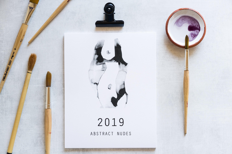 Nude desk calendar Nude Photos