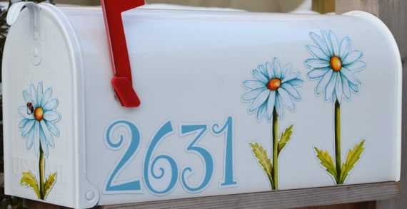Car /& Vehicle Decorations for Mail Box Not a Decal or Cover Mailbox Magnet Partial Cover Celebrate 4th of July With Shooting Stars Home