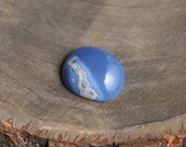Blue Opal Cabochon, Natural Opal from Peru, Hand Cut freeform opal gemstone, Gemstone for jewelers or collectors, Jewelry making supplies