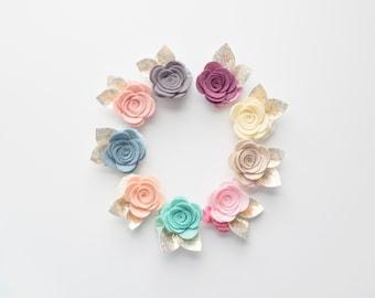 Buy One Get One, Felt flower headbands, felt flower clips, Felt Flower, Baby felt flowers, Baby Accessories, baby headband