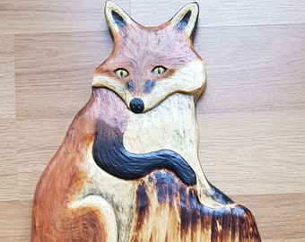 Raccoon carving etsy