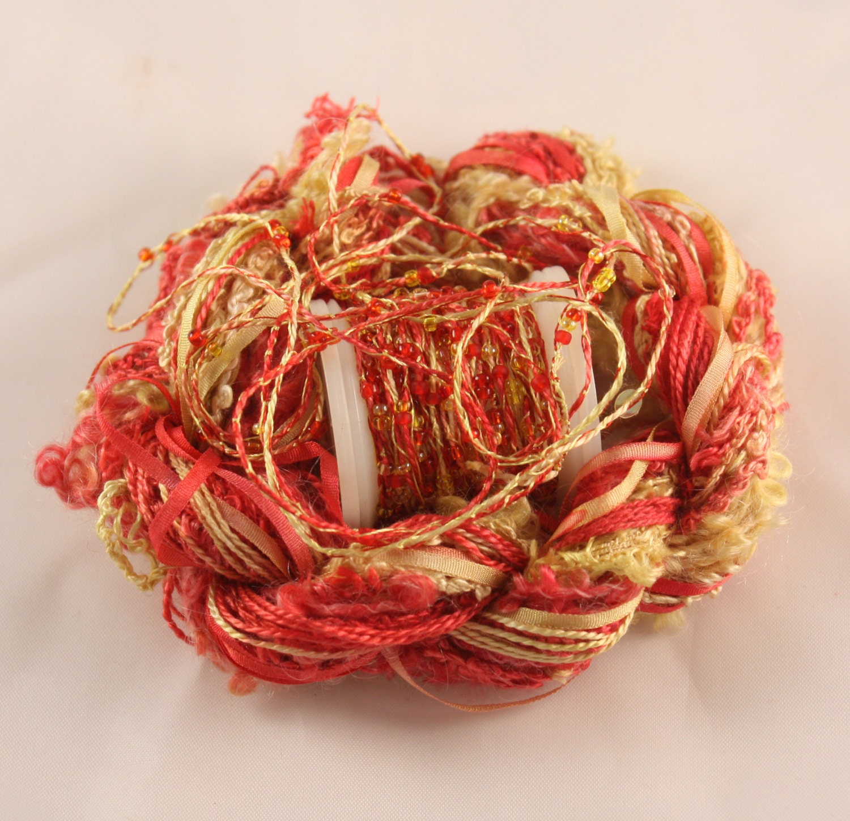 Fil jaune rouge vif en or jaune Fil perles tissage fournitures à la main de soie à broder teints à coudre quilting thread du sequin embellissements f38e55