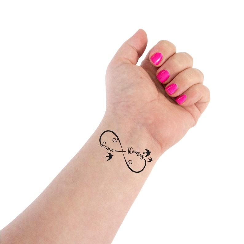 Infinity Tattoo Wedding Tattoo Couple Tattoo Infinity | Etsy