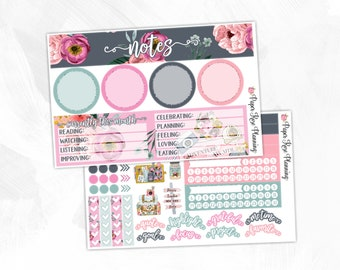 July Notes Page Kit