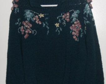 17a8933ac9 Vintage Handknit Sweater - Women s Pullover