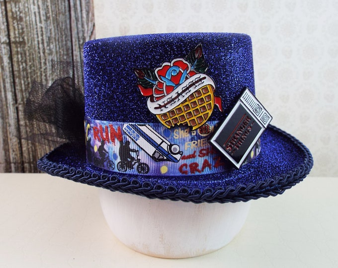 Stranger Things Fascinator Mini Top Hat