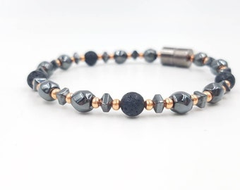 EO Diffuser Bracelet || Natural Solution || Aromatherapy|| Mood Enhancer Jewelry || Mosquito Repellent Bracelet || Magnetic Clasp || Stylish
