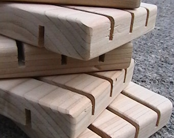 110 Standard Size Cedar Natural soap deck Wood Spa Soap Dish custom sizing available Bulk Pricing - No Discount codes, please.