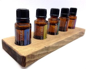 Essential Oil Organizer || Bottle Storage || 15ml/5ml || Holds 5 Bottles for Major Essential Oil Brands || Essential Oil Holder || Display
