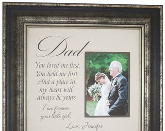 Gift from Bride, Father Gifts, Father Wedding Gift, Wedding Gift for Dad, Father of the Bride Gift, Father Daughter Gift, Dad Gifts, 16x16