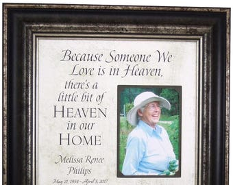 In Memory Of Dad, Remembrance Gift, Wedding Memorial, In Memory of Mom, bereavement gift, remembering you gift, 16X16