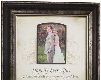 1st Anniversary Gift for Her, 1st Anniversary Gift for Wife, Personalize 1st Anniversary for Husband, 16x16 overall with 5x7 photo
