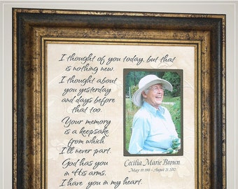 Memorial Photo Frame Etsy