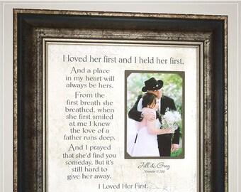 I Loved Her First Frame Etsy