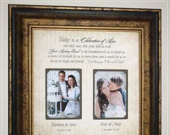 Wedding Frame Parent Etsy