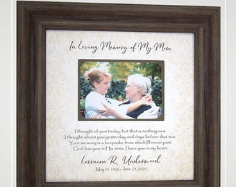 Loss of Mom In Memory of Mom Dad Sympathy Gifts, Memorial Gift for Mom Dad, In Loving Memory Mother Father, Memorial Gift for Loss of Mom.