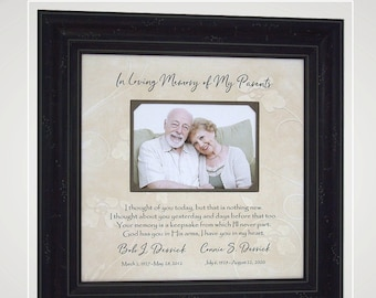 Custom In Memory Of Memorial Personalized Photo Picture Frames Mat Memorial Bereavement Signs Remembrance, Free Shipping,