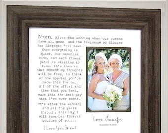 Wedding Gift for Mom, Mother of the Bride Gift, Mother Daughter Gift, Mom Gifts, Gift from Bride, Mother Gifts, Mother Wedding Gift,