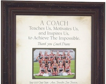 Cheer Coach Gift, Cheerleading Coach Gifts, Cheerleading Gifts, Gift for Coaches, Cheer Gifts, Sports Team Gift, Gift for Cheer Coach, 16x16