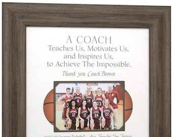 Gift for Basketball Coach, Gift for Coach, Basketball Coach Gift, Soccer Coaches Gifts, Softball Coach Gift, Basketball Coaches Gift, 16x16