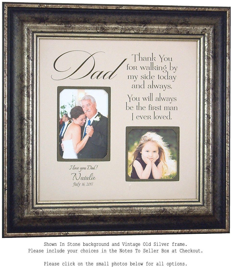 Father of the Bride Gift wedding gift dad thank you gift for