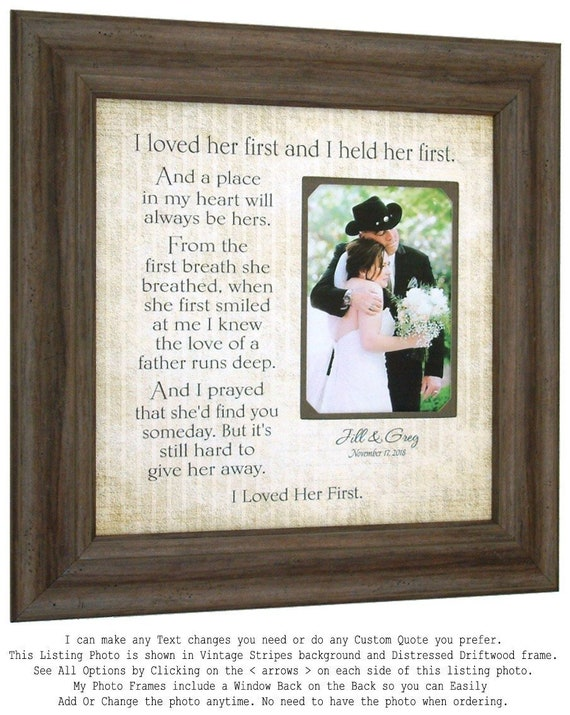 Father of the Bride Gift Wedding Thank You Gift for Dad I | Etsy