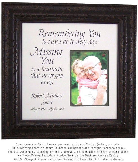 In Memory In Memory Of Gift In Memory of Dad In Memory of | Etsy