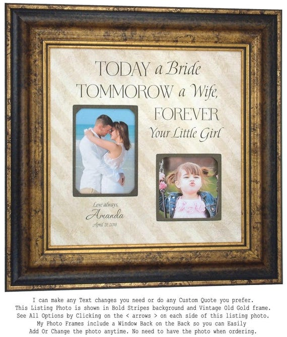 Personalized Wedding Frame Parents Wedding Gift Wedding Gift