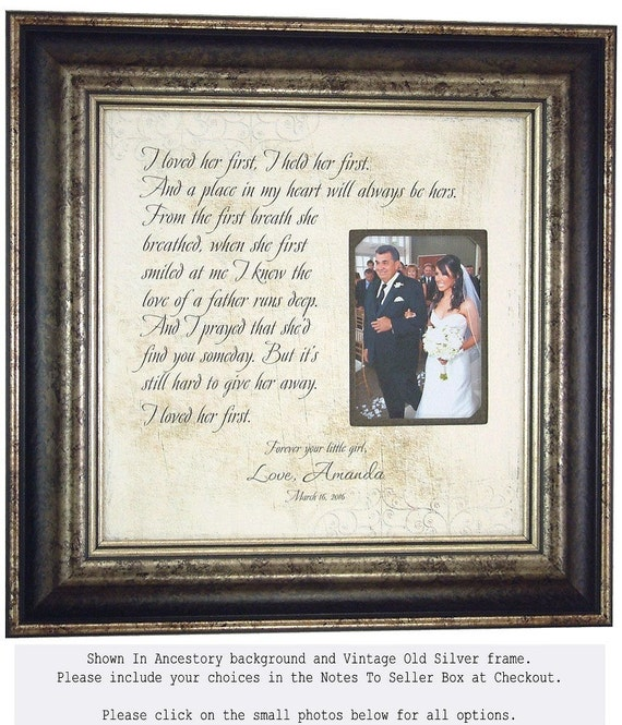 Father of the Bride Gift, Lyrics Wedding Song First Dance, I LOVED ...