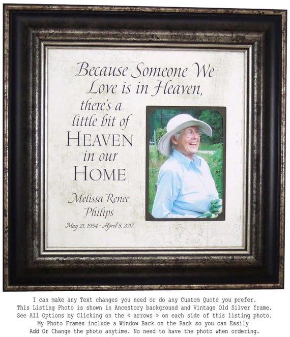 In Memory Of Mom Remembrance Gift Wedding Memorial In | Etsy