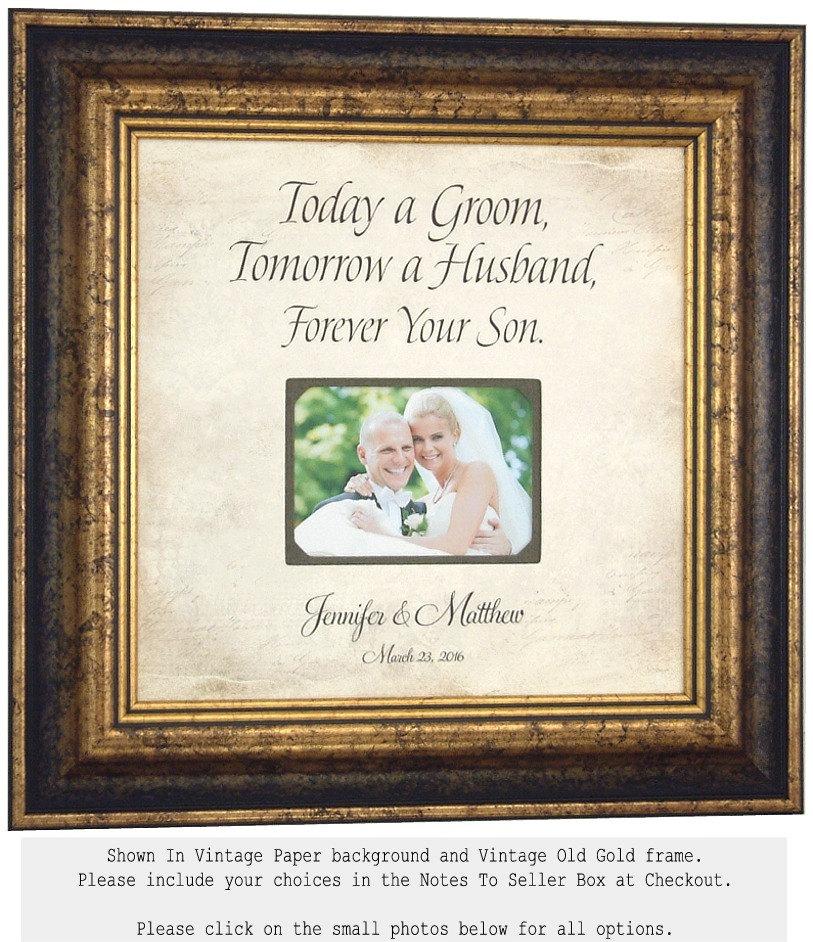 Wedding Gifts For Grooms Parents: Groom Wedding Gift For Parents Parents Of The Groom