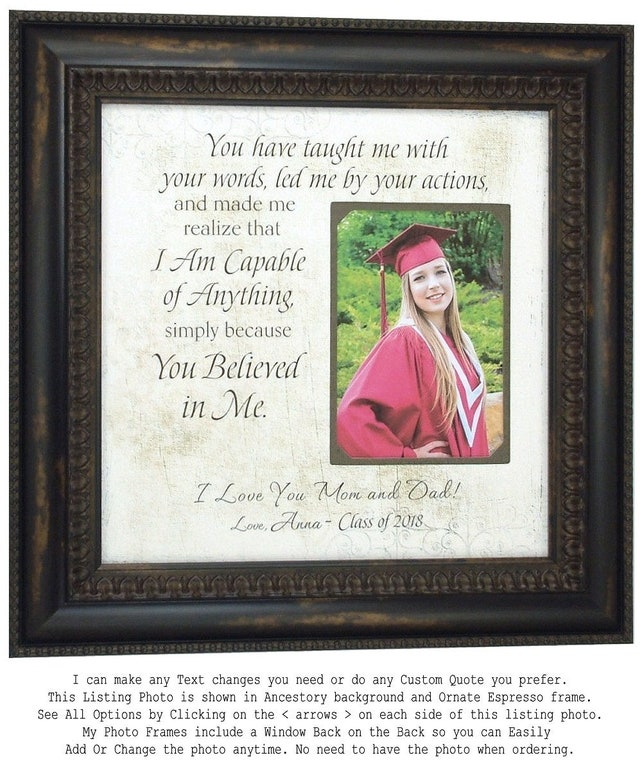 Personalized Picture Frame Parents Wedding Gift Parents Of The