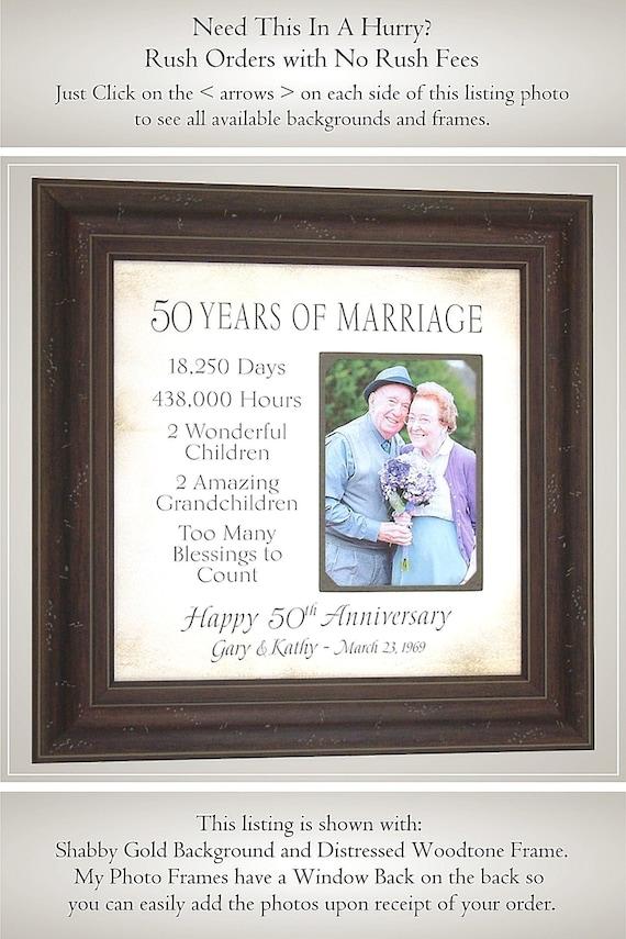 50th Anniversary Gifts Parents Anniversary Gift Anniversary | Etsy