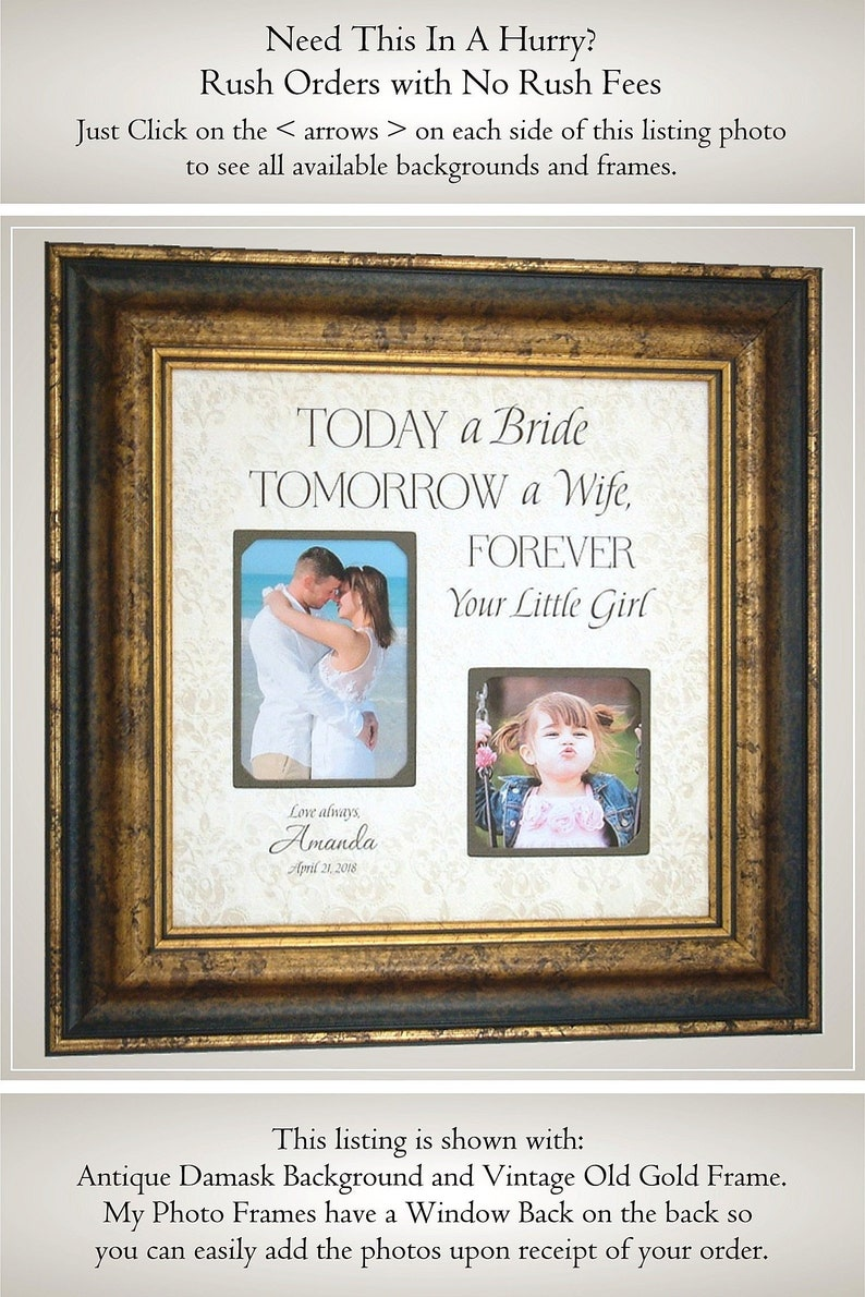 32828b0ed8e Wedding Quote for Father of the Bride Gift from Bride Father