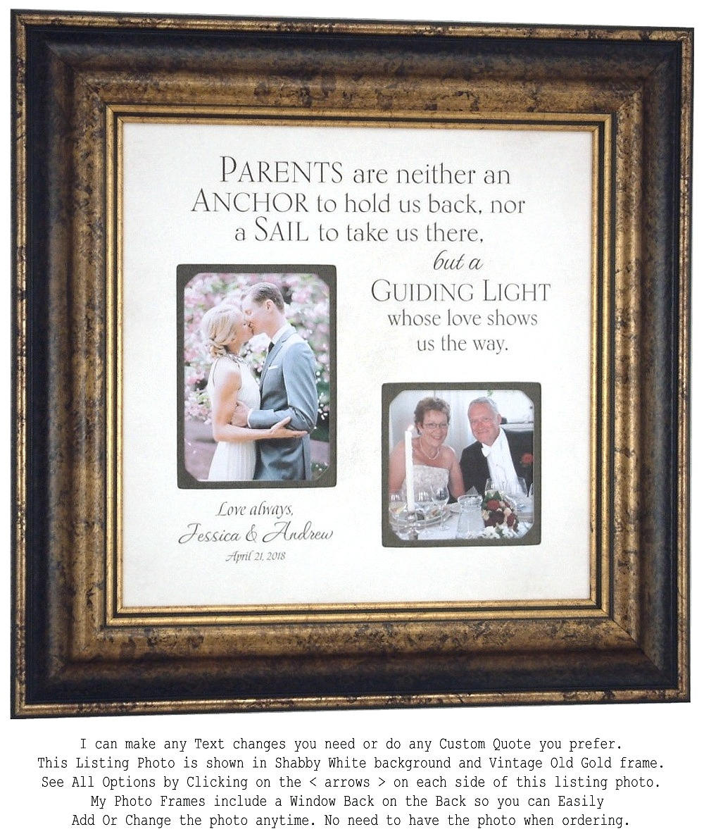 Wedding Gifts Parents: Parents Wedding Gift Thank You Gift For Parents Wedding