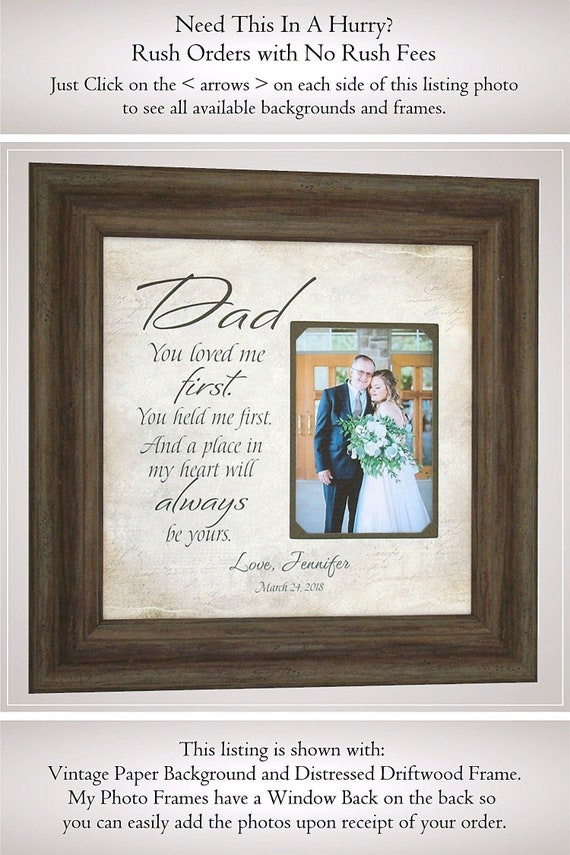 Father Of The Bride Gift Wedding Gifts For Dad Gift For Dad Etsy