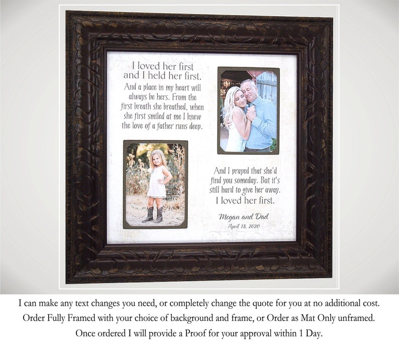 Father of the Bride Wedding Gift for Dad from Daughter image 0