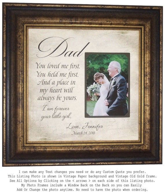 Father Of The Bride Gift Wedding Gift For Dad Wedding Gift For