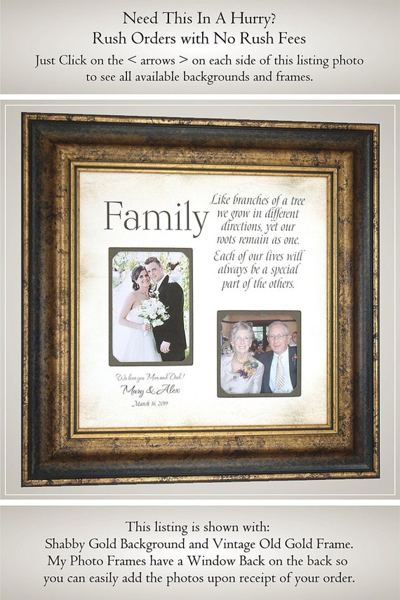 Parent Wedding Gift Father Of The Bride Groom Gift Wedding Etsy
