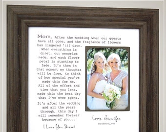 Wedding Gift for Parents of the Bride from Bride and Groom, Wedding Gift for In Laws Mother of the Groom, Mother of the Bride Gift,