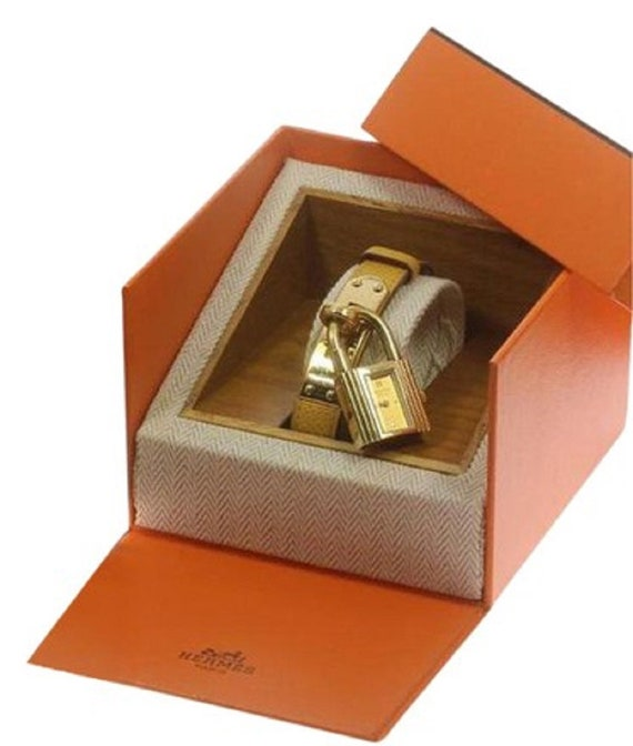 8b2d70ce6d3f8 HERMES KELLY WATCH and Box